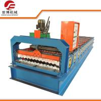 Quality Programmed Controlled Steel Sheet Corrugation Roll Forming Machine For Roofing Tile wholesale