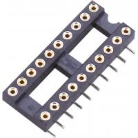 Quality IC Socket SMT Round Pin Header H=3.0 L=7.43 Row of Pitch 15.24 Product spacing wholesale