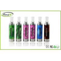 China blue yellow ego twist Evod healthy E Cig Clearomizer 1.6ml , Evod Bottom Coil Clearomizer on sale