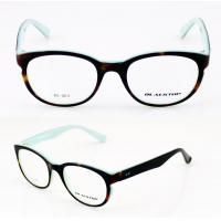 Quality Unisex Handcrafted Black Novel Eye Glass Frames With Demo Lens wholesale