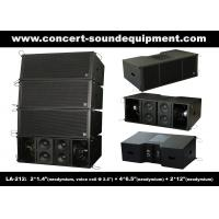 Quality 3 - Way 1560W High Power LA-212 Line Array Speaker Dynamic And Clarity For Concert / Nightclub wholesale
