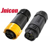 Male Female IP67 Waterproof Connector PPA M25 Straight Aviation Inline