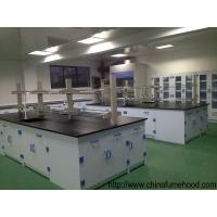 Quality PP Chemistry Lab Furniture , 750/1500x850mm Laboratory Workbench Furniture wholesale