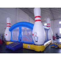 Quality Inflatable 4 in 1 Combo Jumping Castle Jump And Slide With Plastic Ball Pit wholesale