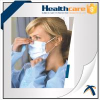 Quality Non Woven Disposable Mouth Mask With Elastic Ear Loop For Dental Single Use wholesale