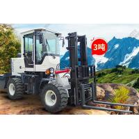 Quality Small Port Handling Equipments  ,  4wd 3 To 5 Ton Off - Road Hydraulic Forklift Truck Diesel Machines wholesale