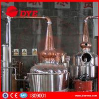 Quality Frequently Used Steam Ethanol Distiller Vodka Distilling Equipment wholesale