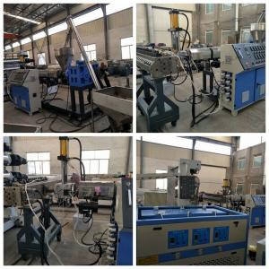 China WPC Billboard Wood Plastic Composite Extrusion Line , WPC Shelf Foam Board Machine on sale
