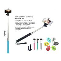 Quality 3in1 Handheld Monopod kit Tripod With Shutter Release For mobile phone Android/iPhone wholesale