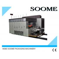 Quality High Precision Flexo Printing And Die Cutting Machine With PLC Controlled wholesale