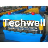 Cheap Metal Trapezoidal Roof Panel Roll Forming Machine for Making Trapezoidal Roof for sale