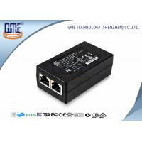 Quality 15 Volt POE Power Adapter 0.8a , Black AC DC POE Ethernet Adapter wholesale