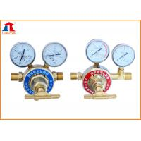 China Oxygen Fuel Gas Single Stage High Pressure Gas Regulator For Gas Supply Control on sale