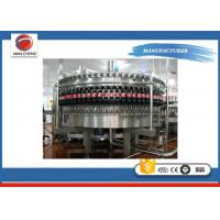 China Soda Bottled Water Production Machines , Large Capacity Rotary Liquid Filling Machine on sale