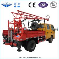Quality G-1 Truck Mounted Drilling Rig , Mobile Drilling Rigs For Bridge , Dam wholesale
