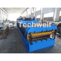 Quality IBR / Corrugated Sheets Dual Level Cold Roll Forming Machine With 5 Ton Manual Uncoiler wholesale