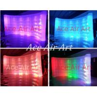 Quality new led lighting inflatable photo booth backdrop wall for photograph on promotion wholesale