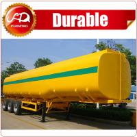 Buy cheap 3-axle 40CBM Fuel Tanker/Oil Diesel Transport Truck Semi Tank Trailer For Sale from wholesalers
