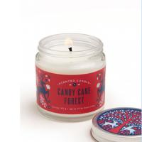 Buy cheap Custom Scented Tin Candles Scented Soy Candle Container With Luxury Printed Box from wholesalers