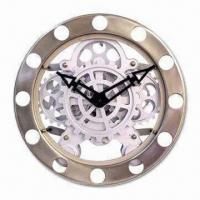 China Wall Gear Clock, Customized Styles are Welcome on sale