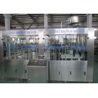 Low Temperature Carbonated Drink Filling Machine / Glass Bottle Isobaric Filling Machine