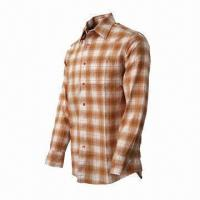Quality Men's Plaid Shirt, Comfortable to Wear, Fashionable, UV-stop, Quickly Dry, Long Sleeves  wholesale