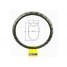 Buy cheap 404g Tubeless Bicycle Road Wheel Clincher Custom Bike 45mm Carbon Rim Tubular from wholesalers