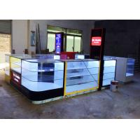 Quality Shopping Mall Cell Phone Display Case / Mobile Phone Kiosk Eco - Friendly Material wholesale