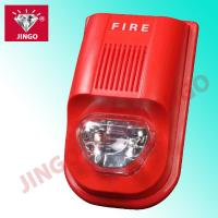 Addressable fire alarm systems DC24V 2 wire strobe horn,flash light with sounder