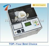 Quality 100KV transformer oil tester set for testing insulating oil dielectric strength wholesale