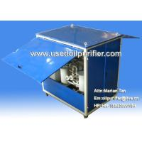 Quality Mobile Transformer Oil Purifier,Insulation Oil Purification with weather-Proof canopy wholesale