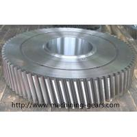Quality SS Large Diameter Gears / Spur and Helical Gears for Heavy Duty Machinery wholesale