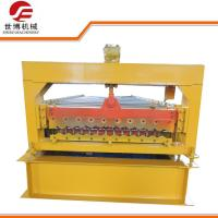 Quality Automatic Corrugated Sheet Roll Forming Machine For Depot Roofing Construction wholesale