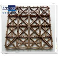 Quality PB-09 Outdoor DIY Wooden Tile mats wholesale