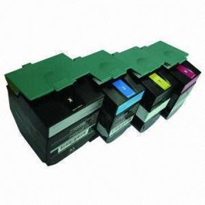 Remanufactured Color Laser Cartridges, C540H2KG/CG/MG/YG, for Lexmark C540n, c543n