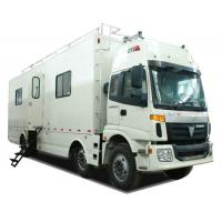 Quality FOTON  6x2 Outdoor Mobile Camping Truck With Living Room and Kitchen wholesale