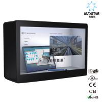 China Auto Sensor Transparent LCD Showcase , See Through LCD Panel Anti Radiation on sale