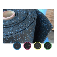 Quality Accessories For Gym Workout Use , Shock Absorbing Noise Reduction Rubber Flooring wholesale