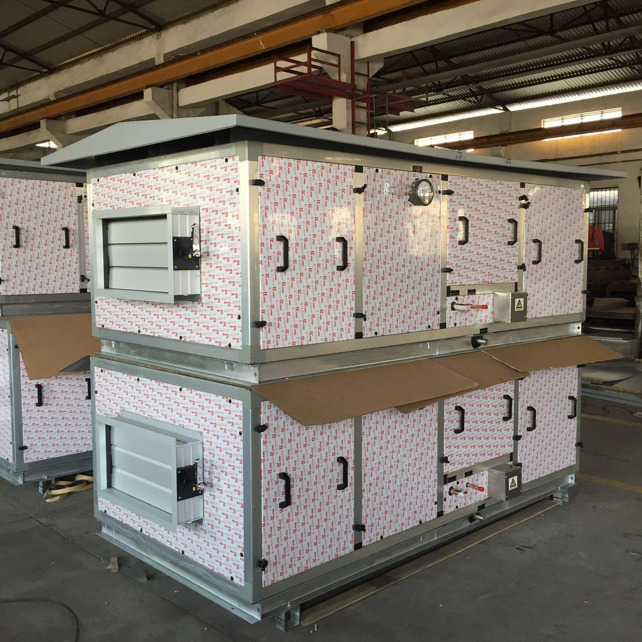 Quality 460V / 3PH / 60Hz DX Air Handling Unit with Canopy for Outside Installation wholesale
