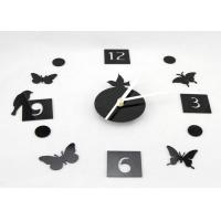 Quality Decorative Sticker Wall Decal Clock Cartoon Shaped For Muslim Wedding Gift wholesale