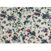 Quality Professional Viscose Rayon Fabric Floral Apparel Fabric 118D+20D wholesale
