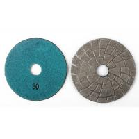 Quality Professional Vacuum Brazed Diamond Tools Granite Sanding Discs 30# 3 Inch wholesale
