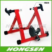 Quality HS-Q02B Conquer Cycle Bike Trainer Indoor Bicycle Exercise magnetic trainer wholesale