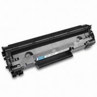 China Toner Cartridge with Chip, Available in Black, Compatible with Canon CRG 128, 328 and 728 on sale