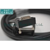 Quality Right Angle Camera Link Cable MDR Overmolding Black Color With Screw Locking wholesale