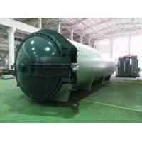 Cheap 1.2*5M steam Rubber Vulcanizing Autoclave , industrial autoclave hydraulic pressure for sale