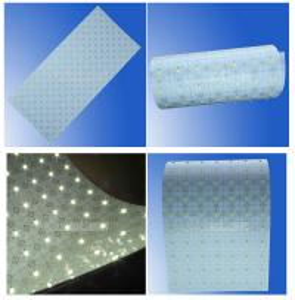 Quality DC24V 100LM/W super slim Flexible LED light sheet led illuminated sheet for backlight wholesale