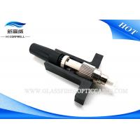 China Multimode SM FC Fiber Connector With Long Term Service Green Paintcoat Drop Cable on sale