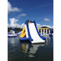 Buy cheap Bounica Floating Inflatable Water Slide With TUV Certificate from wholesalers