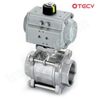 Quality Single Actuator Ball Valve, 1/2 Inch, 1000 WOG TECV wholesale